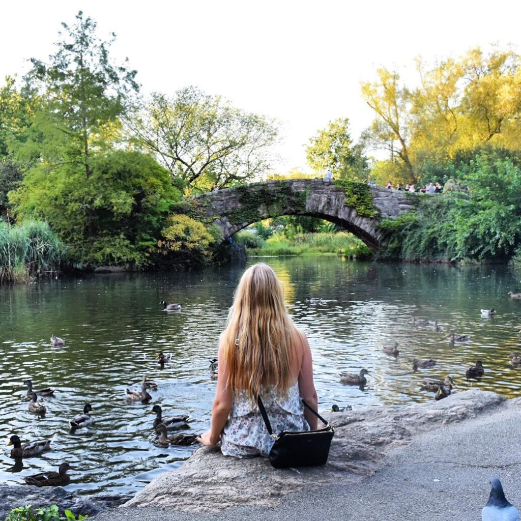 The Pond Central Park Feeding the ducks Gossip Girl Locations Sarah Latham