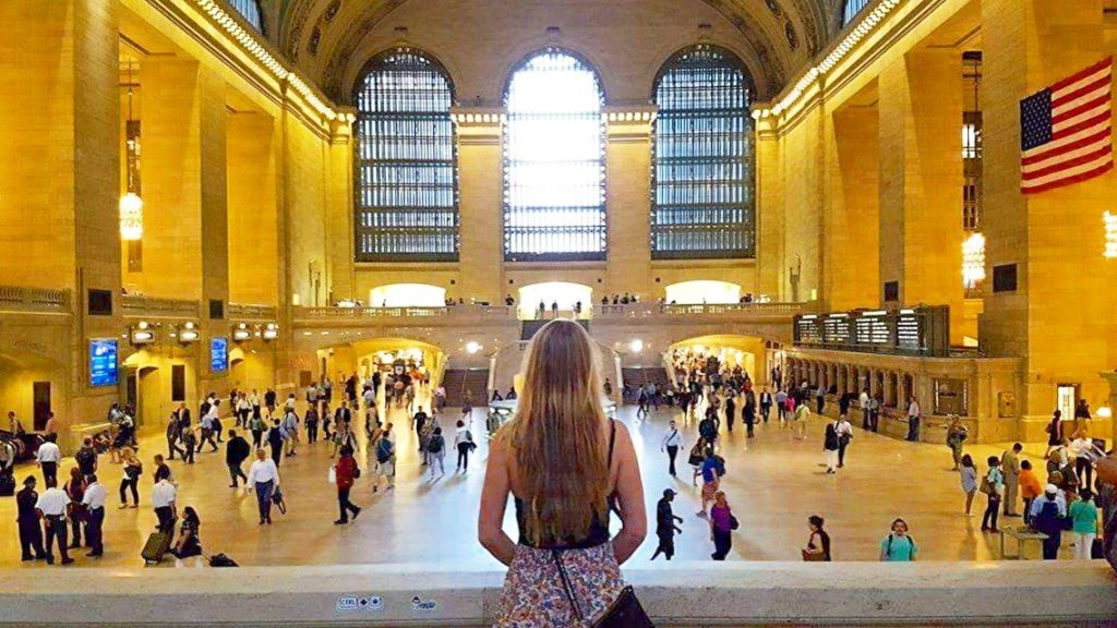 Grand Central Station New York City Sarah Latham Gossip Girl Tour