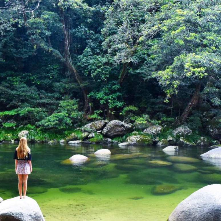 Mossman Gorge Cairns Port Douglas 150km from Cairns Sarah Latham