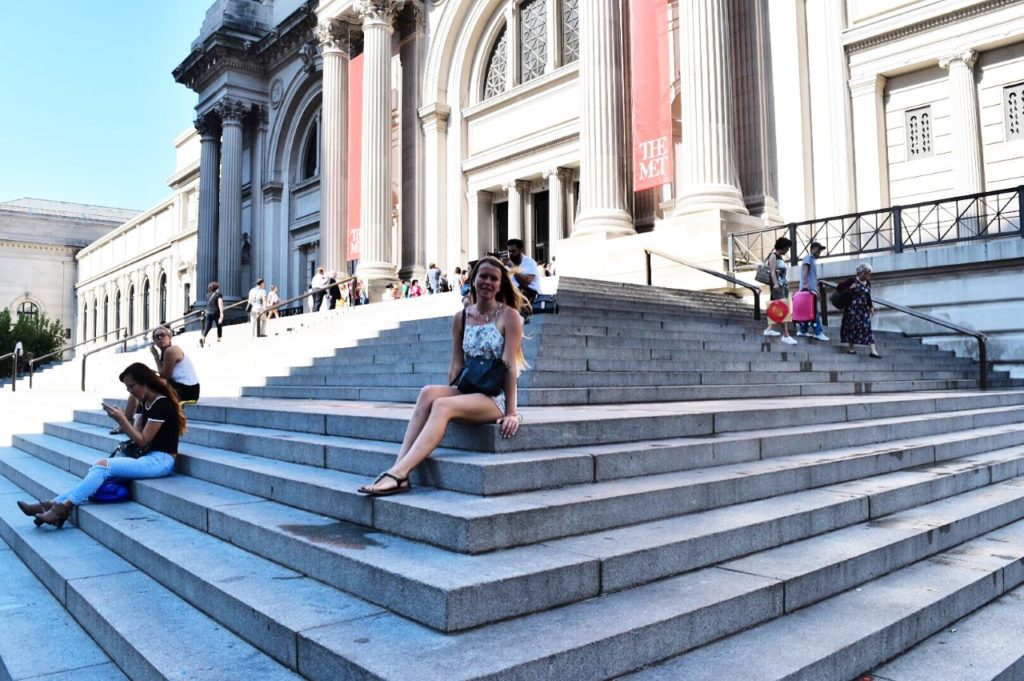 The Met steps Gossip Girl Filming Locations New York City Sarah Latham