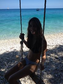 Fitzroy Island beach swing