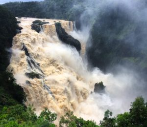 Barron Falls in Flood