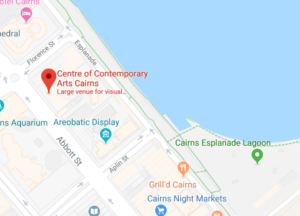 Centre of Contemporary Arts map