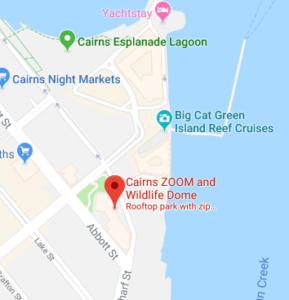 Cairns Zoom Map