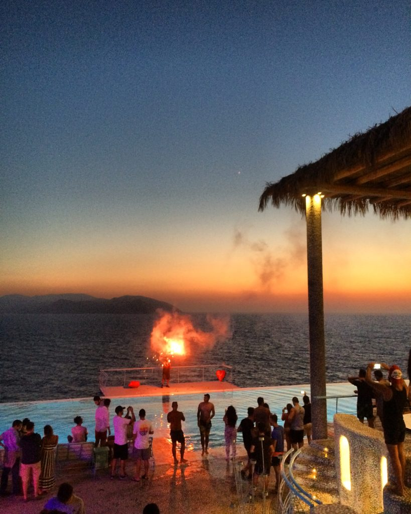 Pathos Sunset Lounge Ios Greece