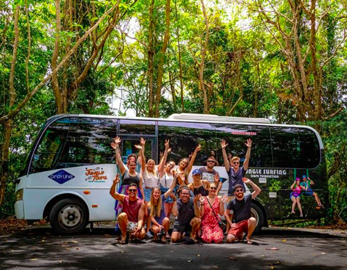 Jungle Tours Go Wild Tour Bus Group