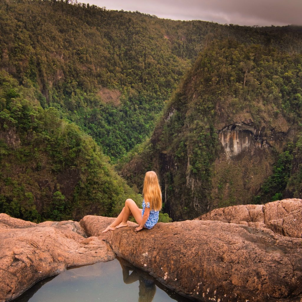 Tully Gorge Lookout in Atherton Tablelands