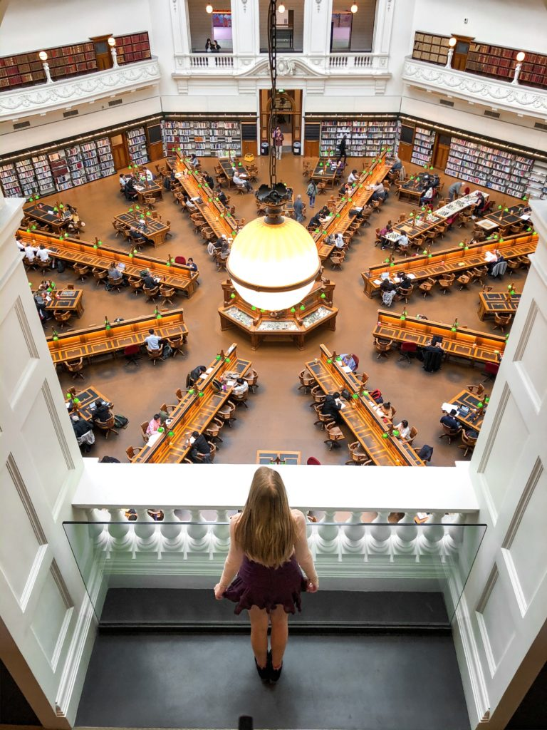 Melbourne State Library Victoria Sarah Latham