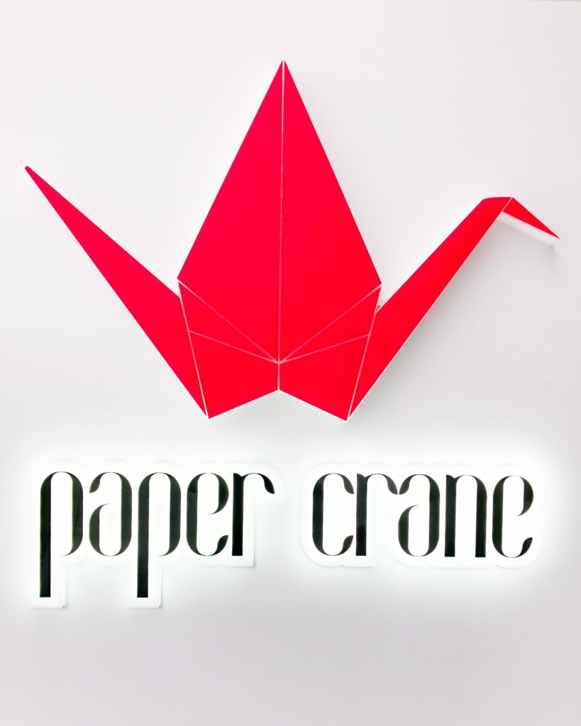 Paper Crane by Crystalbrook Riley Sunday Sesh Cairns Sarah Latham