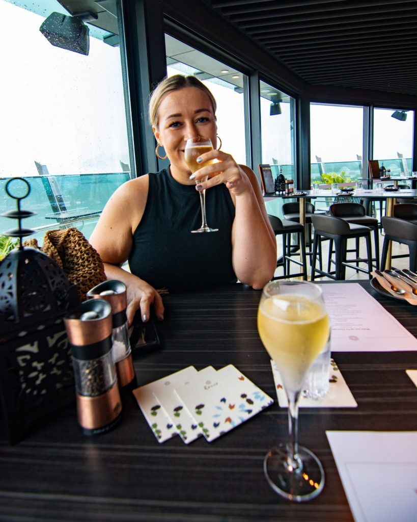 Rocco Rooftop Champagne Brunch Riley Hotel Cairns Sarah Latham