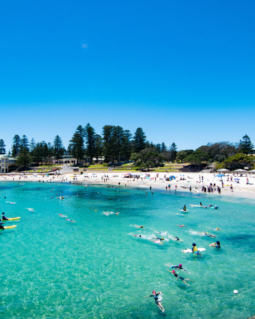 Sarah Latham Cottesloe Beach Perth