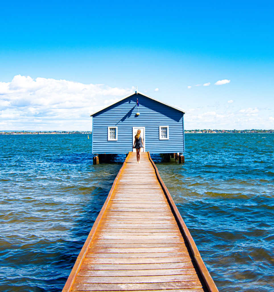 Sarah Latham Crawley Edge Boat Shed Perth City