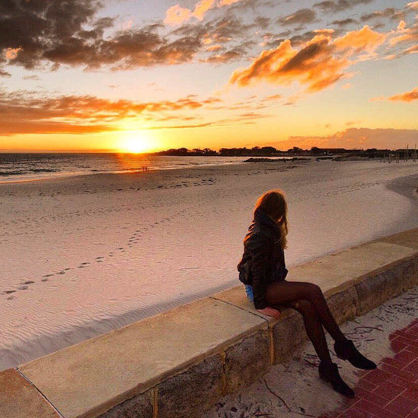Sarah Latham Sorrento Beach Perth