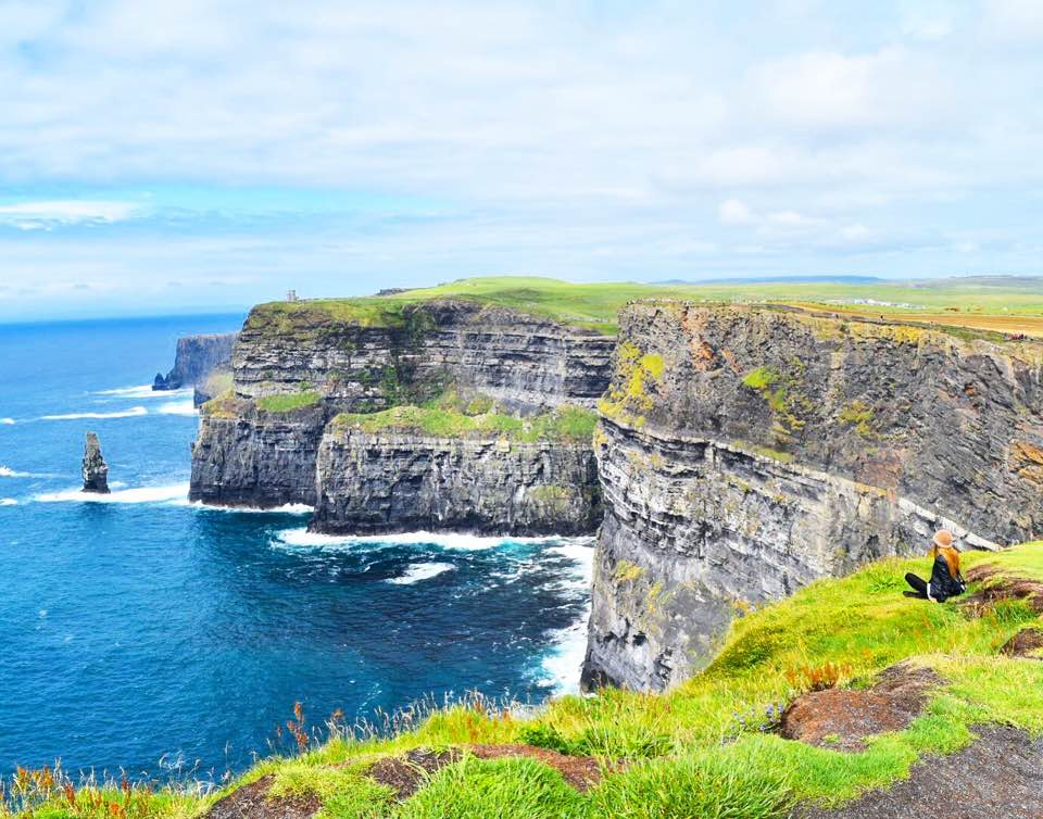 Cliffs of Moher in Ireland bucket list destinations Harry Potter location Sarah Latham