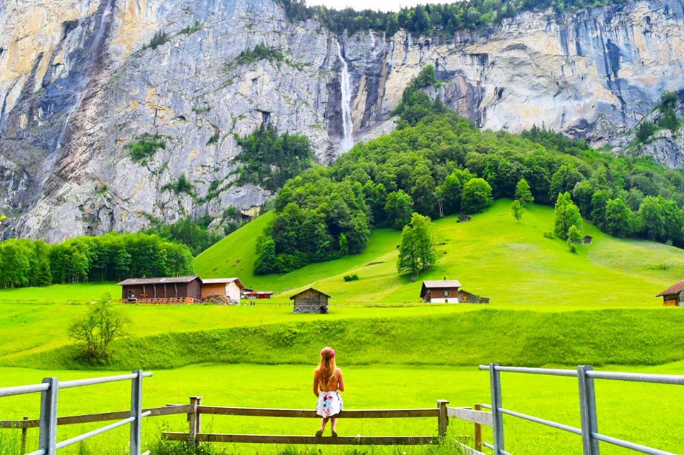 Lauterbrunnen Switzerland Sarah Latham