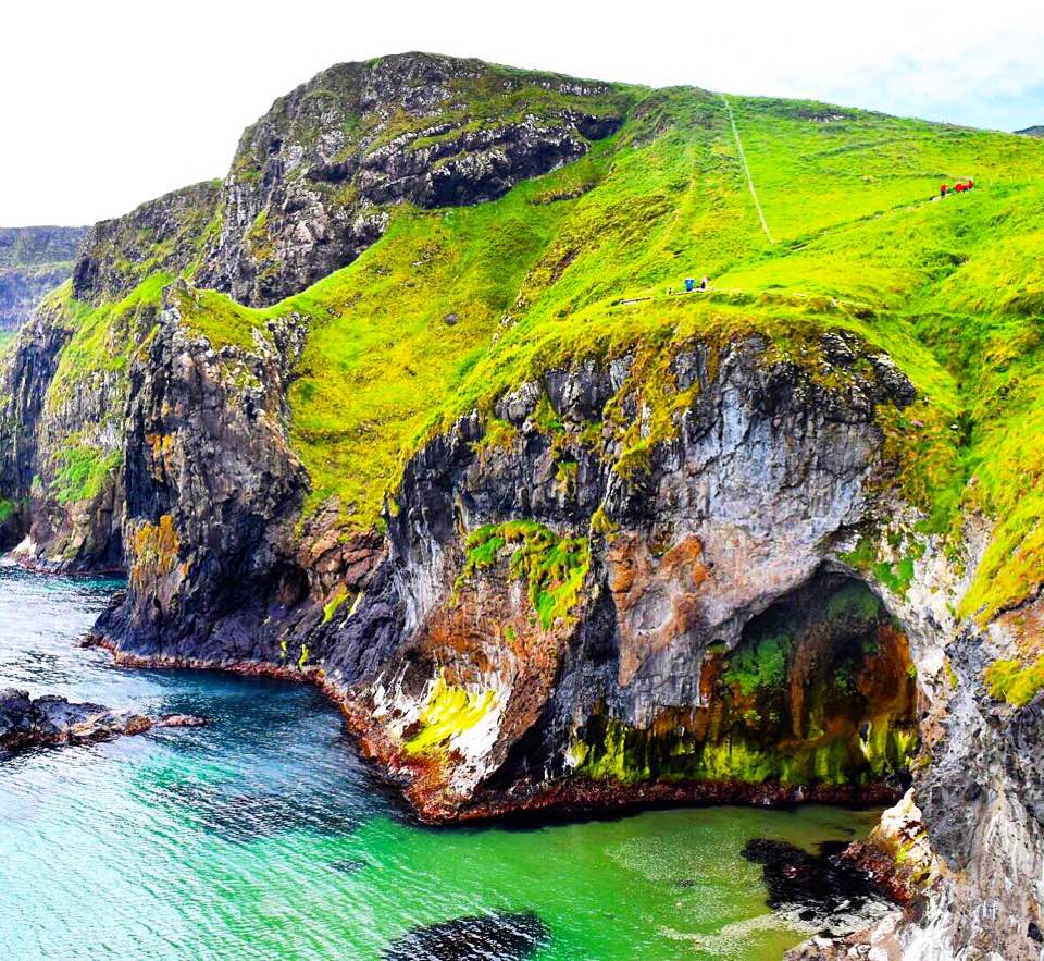 Northern Ireland Sarah Latham Carrick-a-Rede Rope Bridge