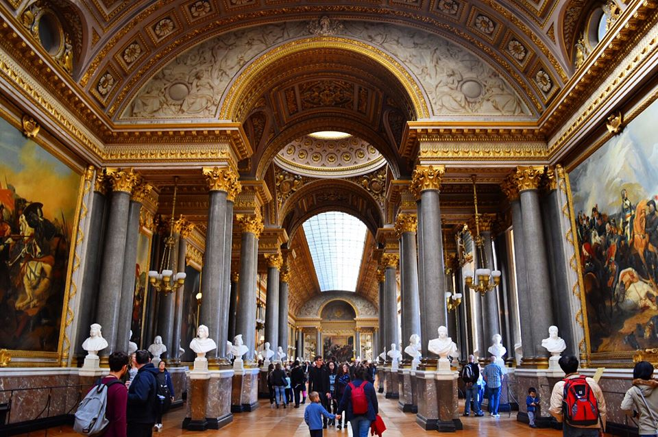 Palace of Versailles Free Entry EU Passport Sarah Latham Europe on a budget
