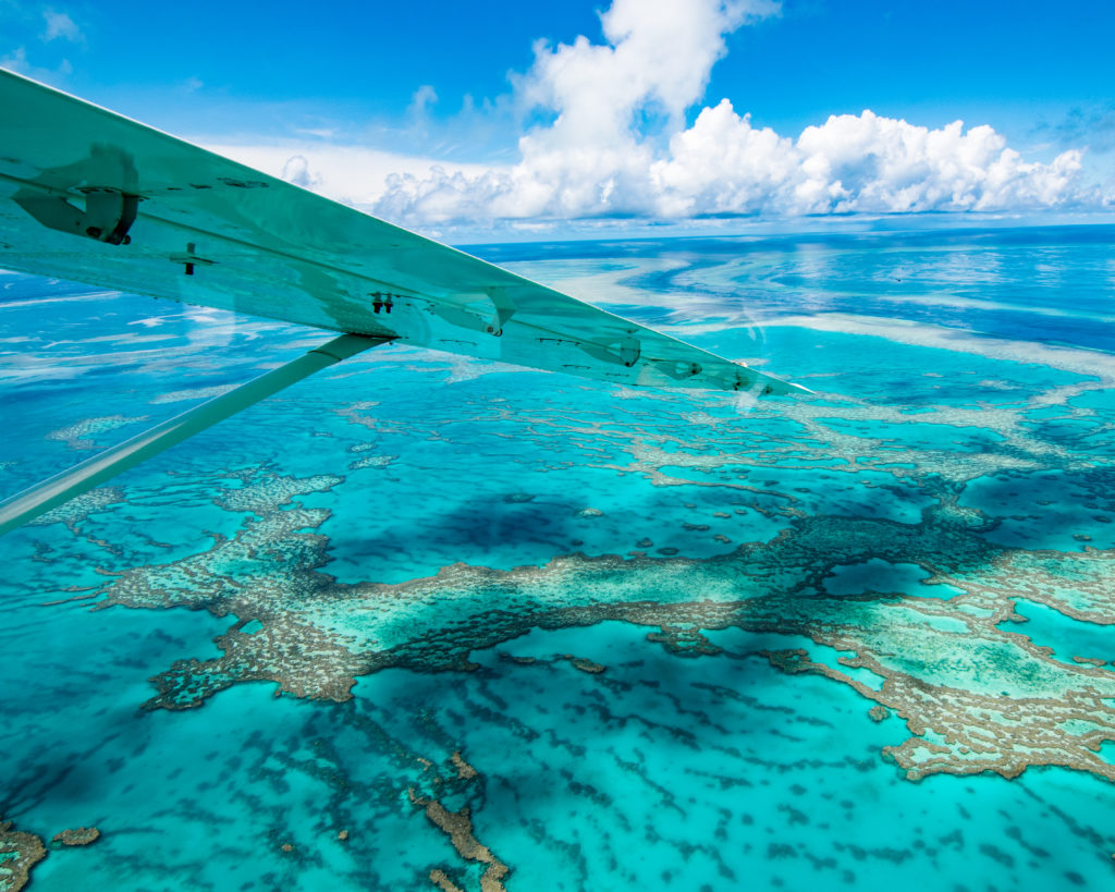 Whitsundays Great Barrier Reef Queensland GSL Aviation