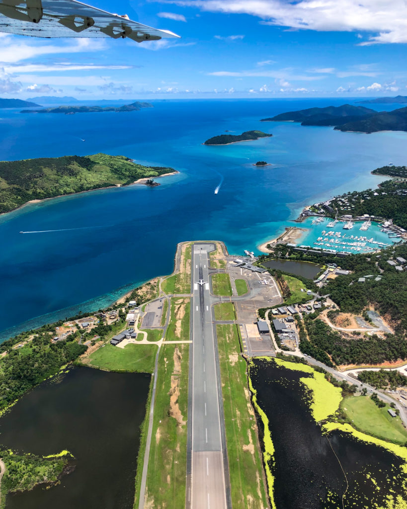 Whitsundays Great Barrier Reef Queensland GSL Aviation Hamilton Island Airport