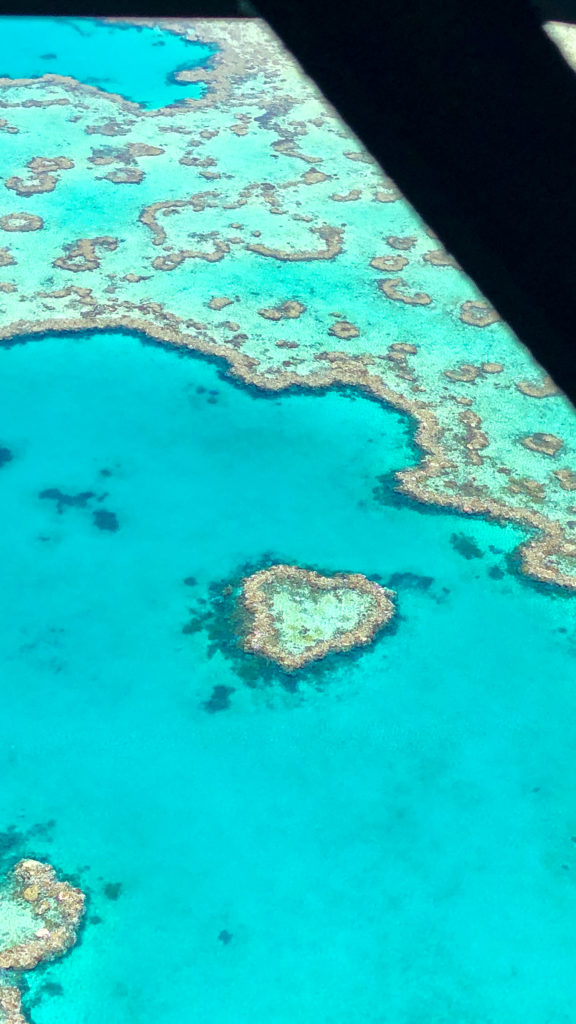 Whitsundays Great Barrier Reef Queensland GSL Aviation Heart Reef
