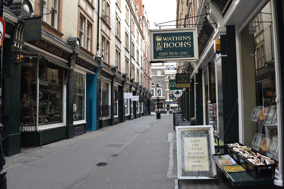 Cecil Court London Harry Potter Locations Sarah Latham