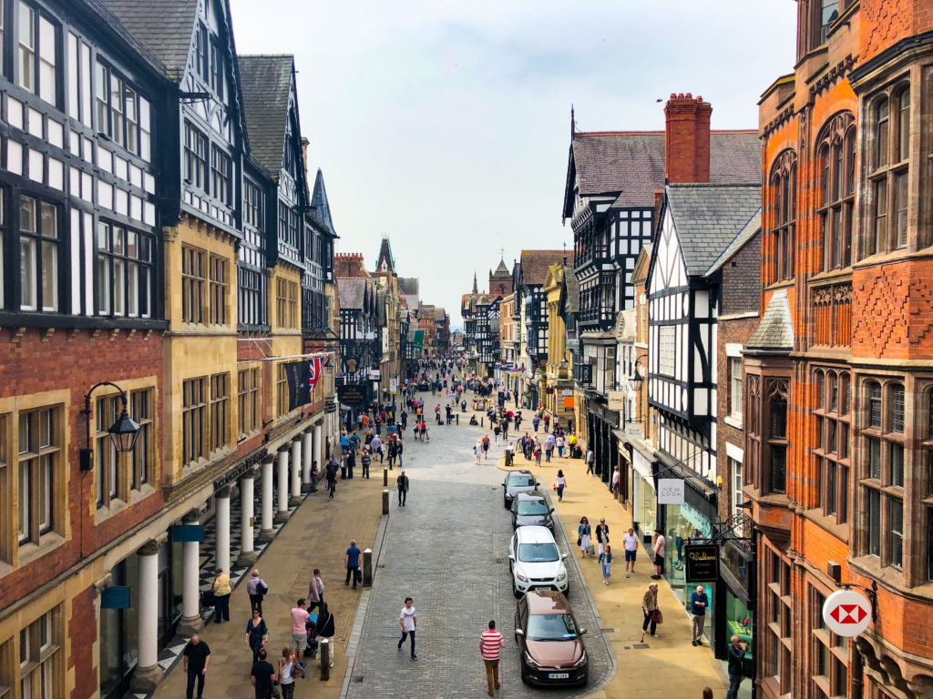 Chester, Cheshire from Eastgate Clock England Sarah Latham