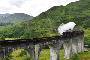 Glenfinnan Viaduct Scotland Harry Potter Locations Sarah Latham