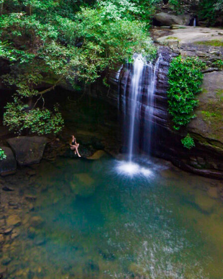 How to get to Buderim Falls Serenity Falls on the Sunshine Coast Sarah Latham 16