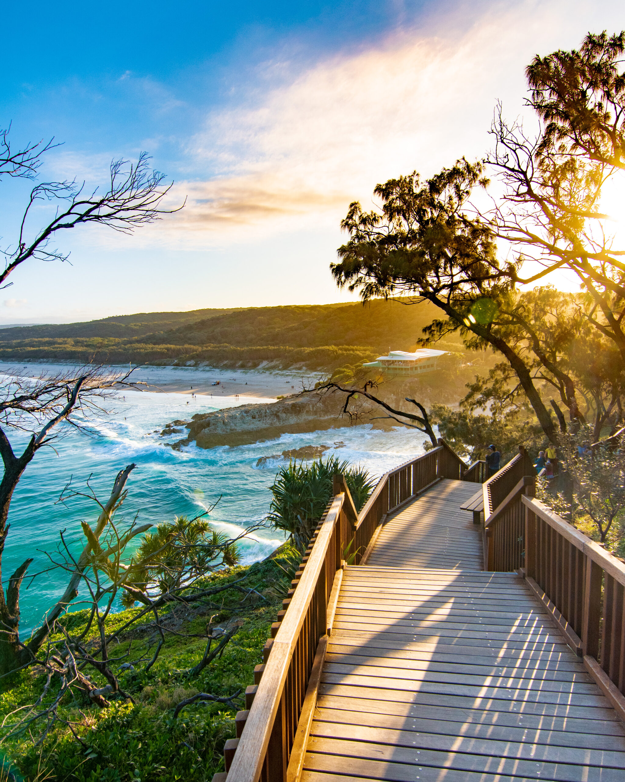 North Stradbroke Island North Gorge Walk sunset Sarah Latham