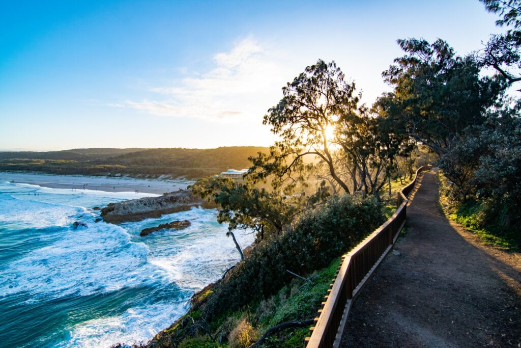 North Gorge Walk North Stradbroke Island sunset Sarah Latham